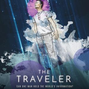 The Traveler - A Story by Jeyla Mendoza, Poster Design by Paola Ramirez