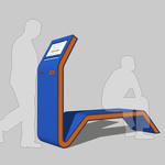 Payment terminal Bench