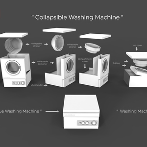 Collapsible Washing Machine