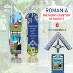 The Merry Cemetery ,Sapanta, Romania- Art, Humor and Stories