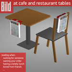 Bild at cafe