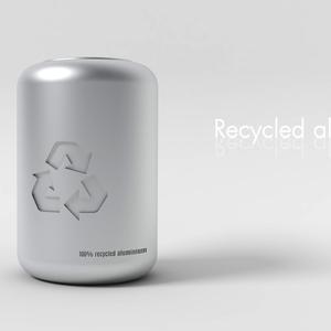 Recycled aluBINium