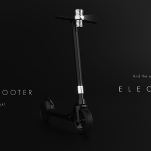 Kick it! scooter (U P D A T E  goes  E L E C T R I C)