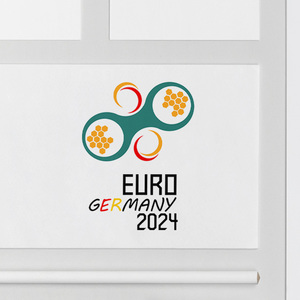 Cheerful EURO 2024 logo