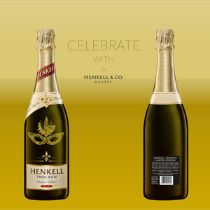 celebrate with Henkell