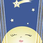 Festive Moon and Stars