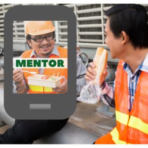 Lunch break mentor