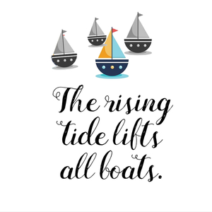 A Rising Tide... when organizations share best practices