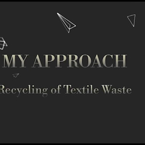 Recycled textile waste