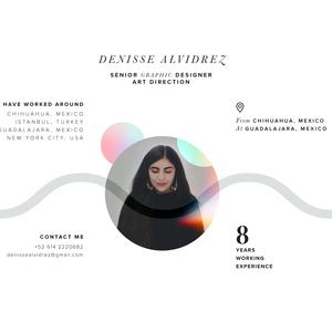 Hi! my name is Denisse and I'm a Graphic Designer